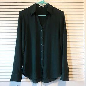 Express Slim Fit Portofino Shirt- Size Small
